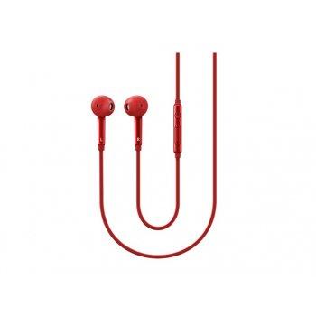 Samsung EO-EG920B auriculares para móvil Binaural Dentro de oído Rojo