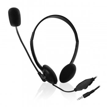 Ewent EW3567 auriculares para móvil Binaural Diadema Negro