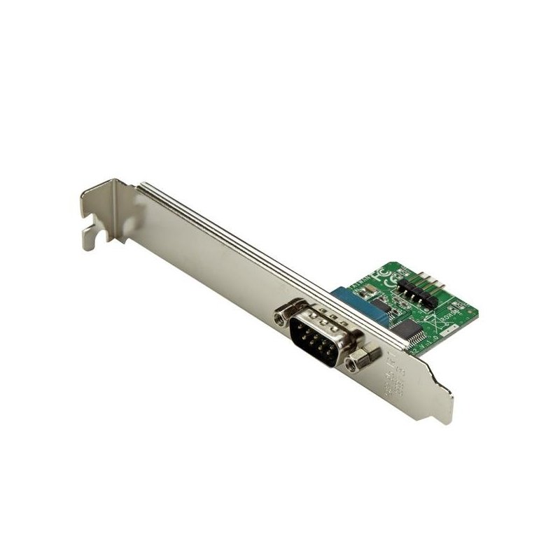 StarTech.com Adaptador 0,6m Header Cabezal Bracket Serie Serial DB9 RS232 a USB Interno de Placa Base
