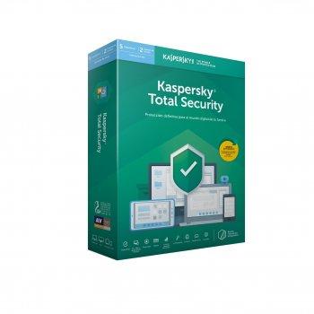 Kaspersky Lab Total Security 2019 Licencia básica 5 licencia(s) 1 año(s) Español