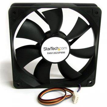 StarTech.com Ventilador de PC 120x25mm con PWM – Conector con Modulación por Ancho de Pulso