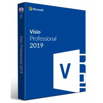 Microsoft Visio Professional 2019 Open Value License (OVL) 1 licencia(s) Español