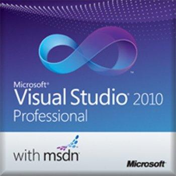 Microsoft Visual Studio 2010 Professional w  MSDN, EDU, OLP-NL, SA, ML Plurilingüe