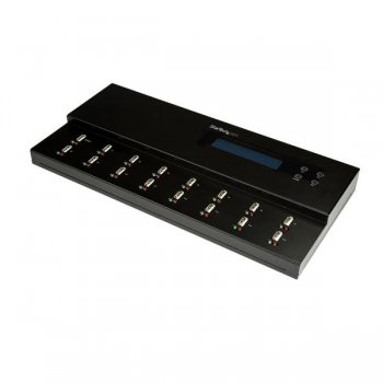 StarTech.com Clonador y Borrador Autónomo de Unidades de Memoria Flash USB 1 15 - Copiador de Memorias USB - Copiador de