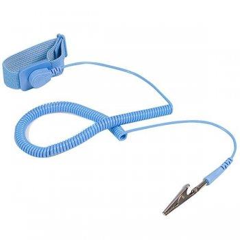 StarTech.com Pulsera Antiestatica con Cable a Tierra - Brazalete Antiestatico con Protección ESD