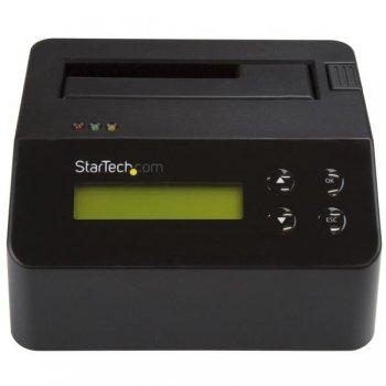 StarTech.com Borrador y Docking Station de Unidad de Disco - Autónoma con Soporte para 4Kn