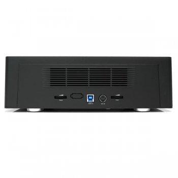 StarTech.com Base de Conexión USB 3.0 con 4 Bahías SATA 6Gbps de 2,5 y 3,5 Pulgadas - Docking Station para HDD SSD