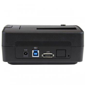 StarTech.com Docking Station USB 3.1 para Unidades SATA de 2,5 y 3,5 Pulgadas - Replicador de Puertos USB-A USB-C o eSATA
