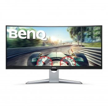 "Benq EX3501R pantalla para PC 88,9 cm (35"") 4K Ultra HD LED Curva Gris"