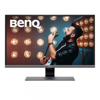 "Benq EW3270U pantalla para PC 80 cm (31.5"") 4K Ultra HD LED Plana Negro, Gris, Metálico"