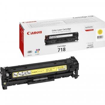 Canon CRG-718 Y Original Amarillo 1 pieza(s)