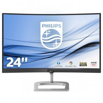 Philips E Line Monitor LCD curvo con Ultra Wide-Color 248E9QHSB 00