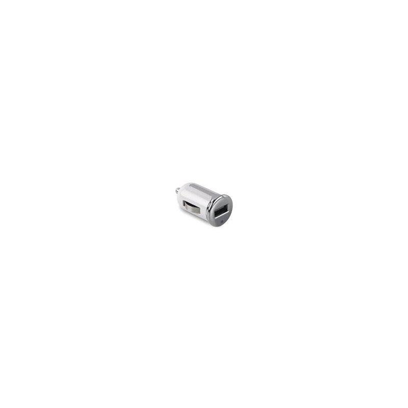 Celly CCUSBTURBOWH cargador de dispositivo móvil Auto Blanco