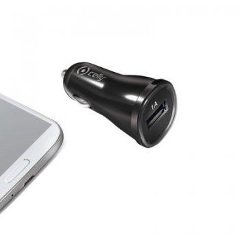 Celly CCUSB cargador de dispositivo móvil Auto Negro