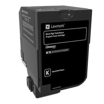 Lexmark 74C2HK0 cartucho de tóner Original Negro 1 pieza(s)