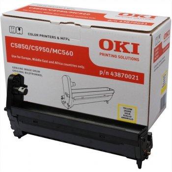 OKI Yellow image drum for C5850 5950 tambor de impresora Original