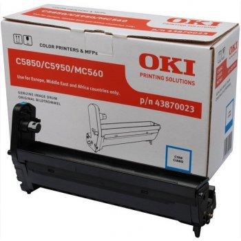 OKI Cyan image drum for C5850 5950 tambor de impresora Original