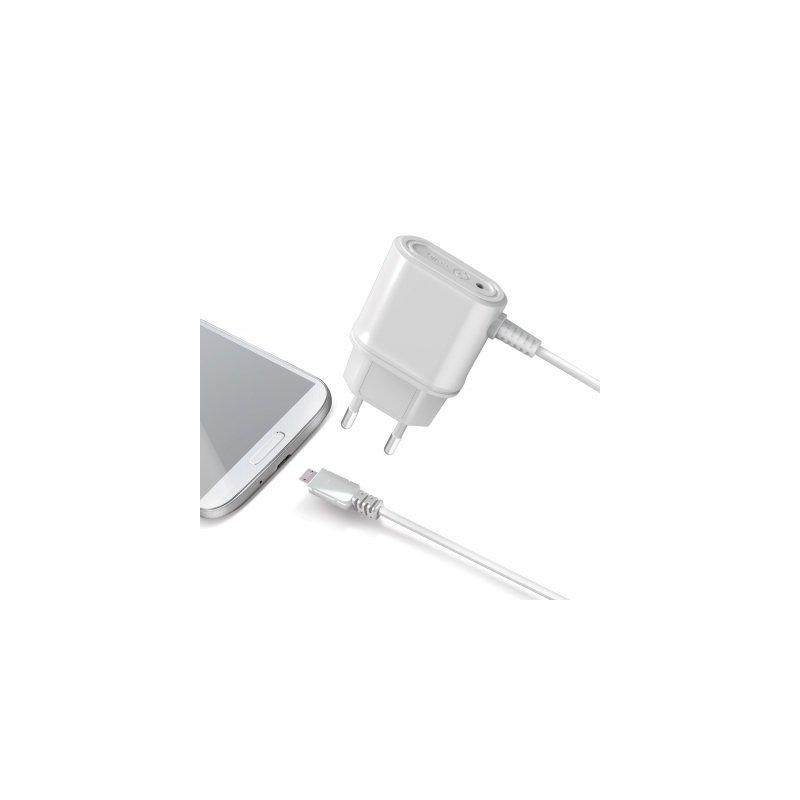 Celly TCMICROW cargador de dispositivo móvil Interior Blanco