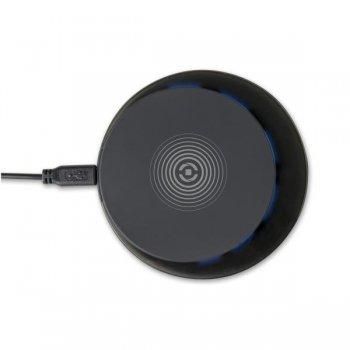 Celly WLFASTPADBK cargador de dispositivo móvil Interior Negro