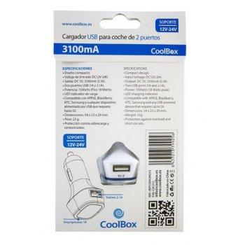CoolBox CDC215 Auto Blanco