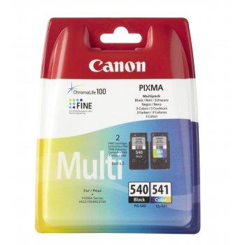 Canon PG-540 CL-541 Multi pack Original Negro, Cian, Magenta, Amarillo Multipack 2 pieza(s)