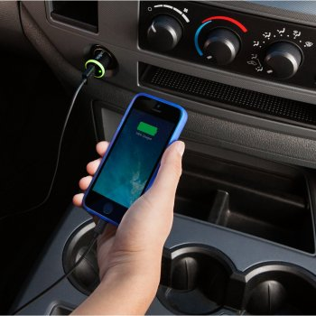 Belkin Car Charger, 1A Auto Azul