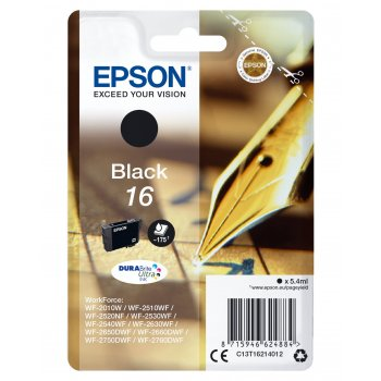 Epson Pen and crossword Cartucho 16 negro