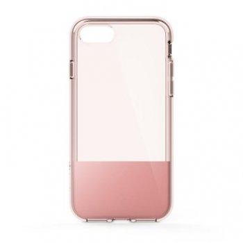 "Belkin SheerForce funda para teléfono móvil 11,9 cm (4.7"") Oro rosa, Translúcido"