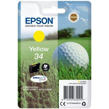 Epson Golf ball Singlepack Yellow 34 DURABrite Ultra Ink