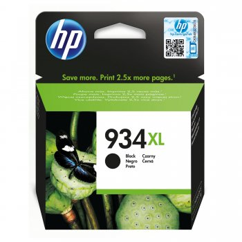 HP 934XL Original Negro 1 pieza(s)