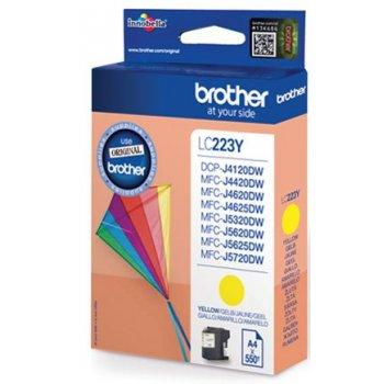 Brother LC-223YBP cartucho de tinta Original Amarillo 1 pieza(s)