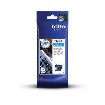 Brother LC-3239XLC cartucho de tinta Original Cian 1 pieza(s)