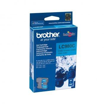 Brother LC-980C cartucho de tinta Original Cian 1 pieza(s)