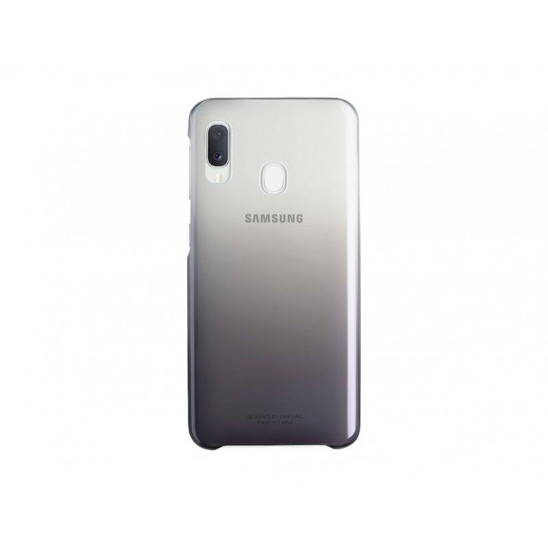 "Samsung EF-AA202 funda para teléfono móvil 16,3 cm (6.4"") Negro, Transparente"