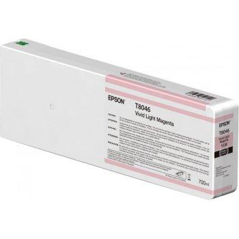 Epson Singlepack Vivid Light Magenta T804600 UltraChrome HDX HD 700ml
