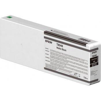 Epson Singlepack Matte Black T804800 UltraChrome HDX HD 700ml