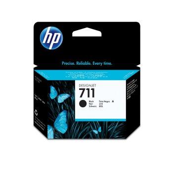HP 711 Original Negro 1 pieza(s)