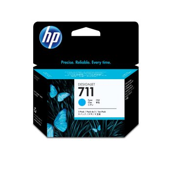 HP 711 Original Cian Multipack 3 pieza(s)