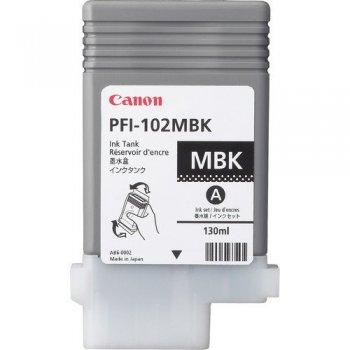 Canon PFI-102MBK Original Negro mate