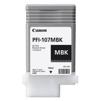 Canon PFI-107MBK Original Negro mate 1 pieza(s)