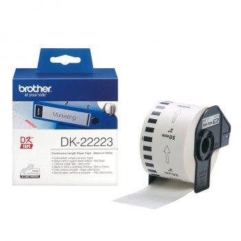 Brother DK-22223 etiqueta de impresora Blanco