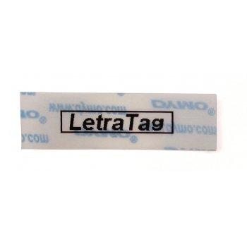 DYMO S0721530 cinta para impresora de etiquetas Negro sobre transparente