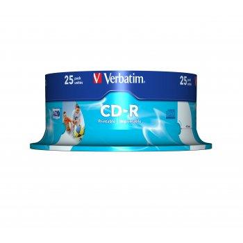 Verbatim 43439 CD en blanco CD-R 700 MB 25 pieza(s)