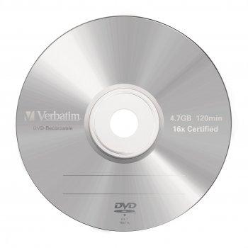 Verbatim DVD-R Matt Silver 4,7 GB 5 pieza(s)