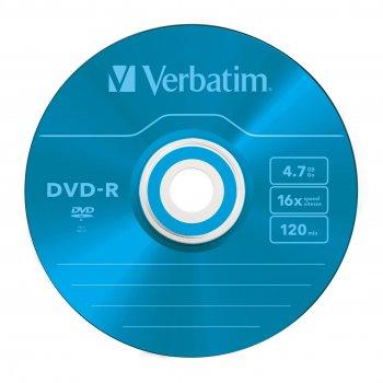 Verbatim DVD-R Colour 4,7 GB 5 pieza(s)