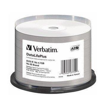 Verbatim DataLifePlus 4,7 GB DVD-R 50 pieza(s)