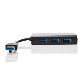 Targus ACH122EUZ hub de interfaz USB 3.0 (3.1 Gen 1) Type-A Negro