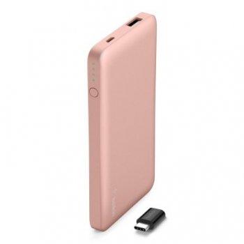 Belkin F7U019BTC00BE batería externa Rosa Polímero de litio 5000 mAh