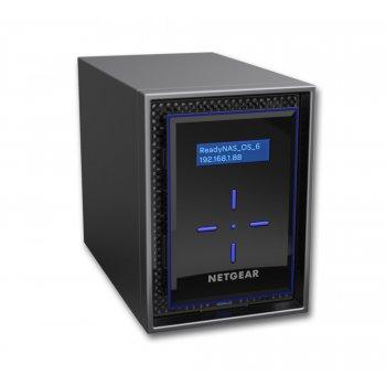 Netgear ReadyNAS 422 Ethernet Escritorio Negro NAS