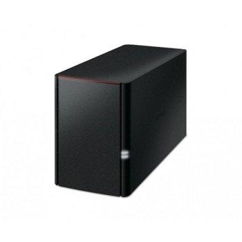 Buffalo LinkStation 220, 6TB Ethernet Negro Servidor de almacenamiento